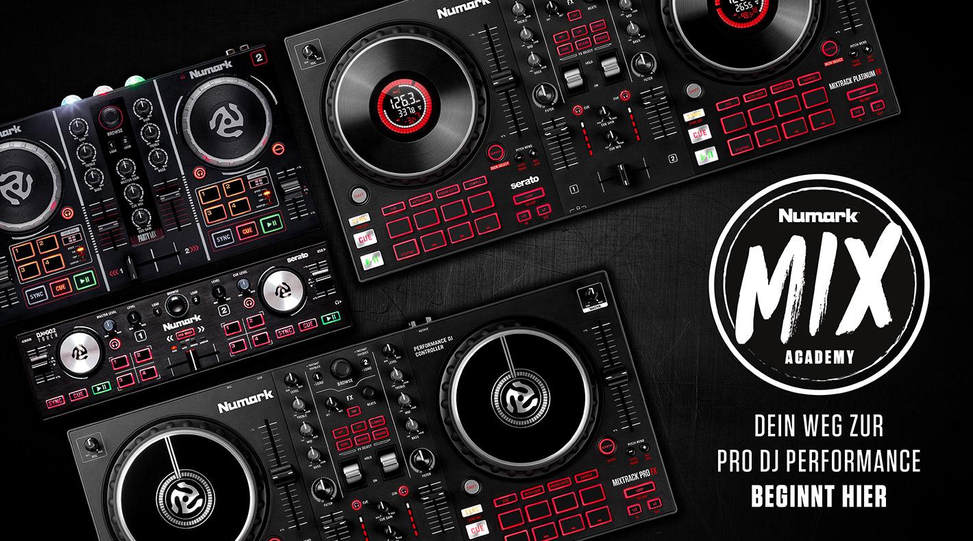 Numark Mix Acadamy - Dein Weg zur Pro DJ Performance beginnt hier!