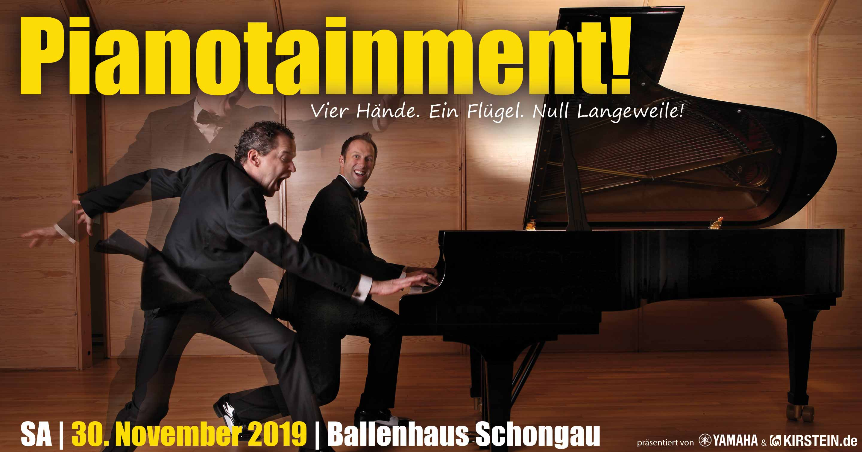 Pianotainment bedeutet Unterhaltung der Spitzenklasse am Klavier.
