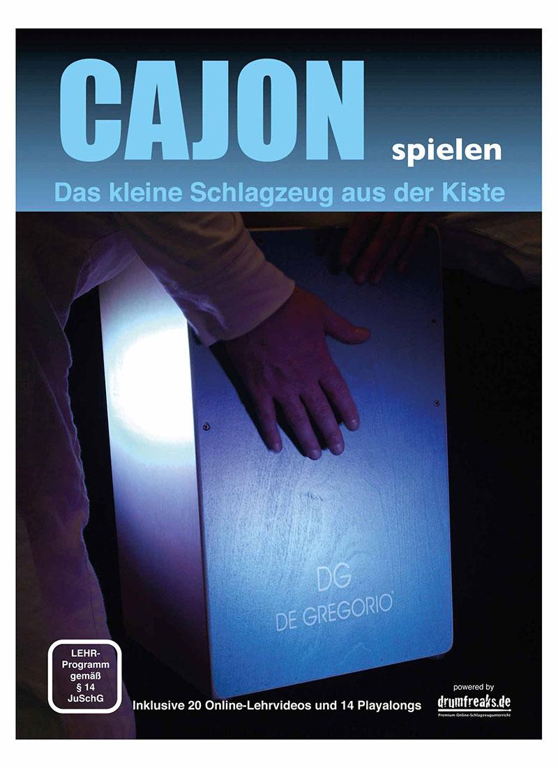 Titelblatt der Cajonschule von Michael Schwager.