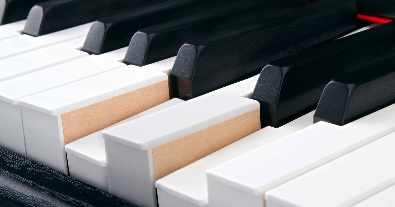 Eine Echtholzklaviatur ist bei einem Digitalpiano schon eine tolle Sache!