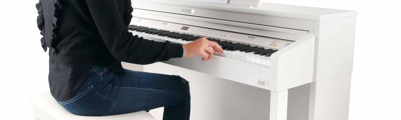 Digitalpianos sind toll für Anfänger und für fortgeschrittene Pianisten.