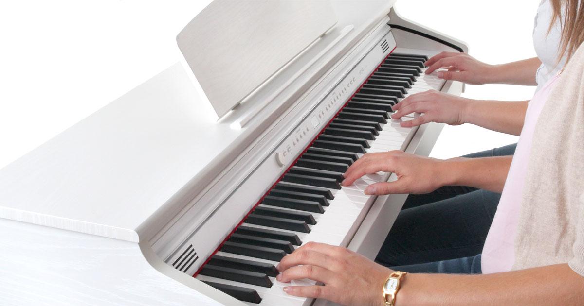 Die Qualität der Tastatur ist bei einem Digitalpiano wichtig.