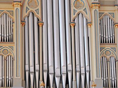 Orgel-Sound auf einem Digitalpiano.