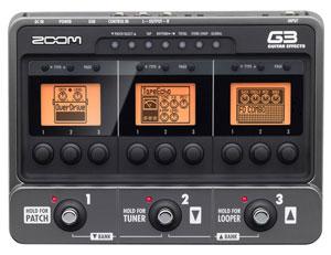 Zoom G3 Gitarren Multieffekt