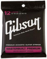Gibson Masterbuilt Premium 80/20 Light.