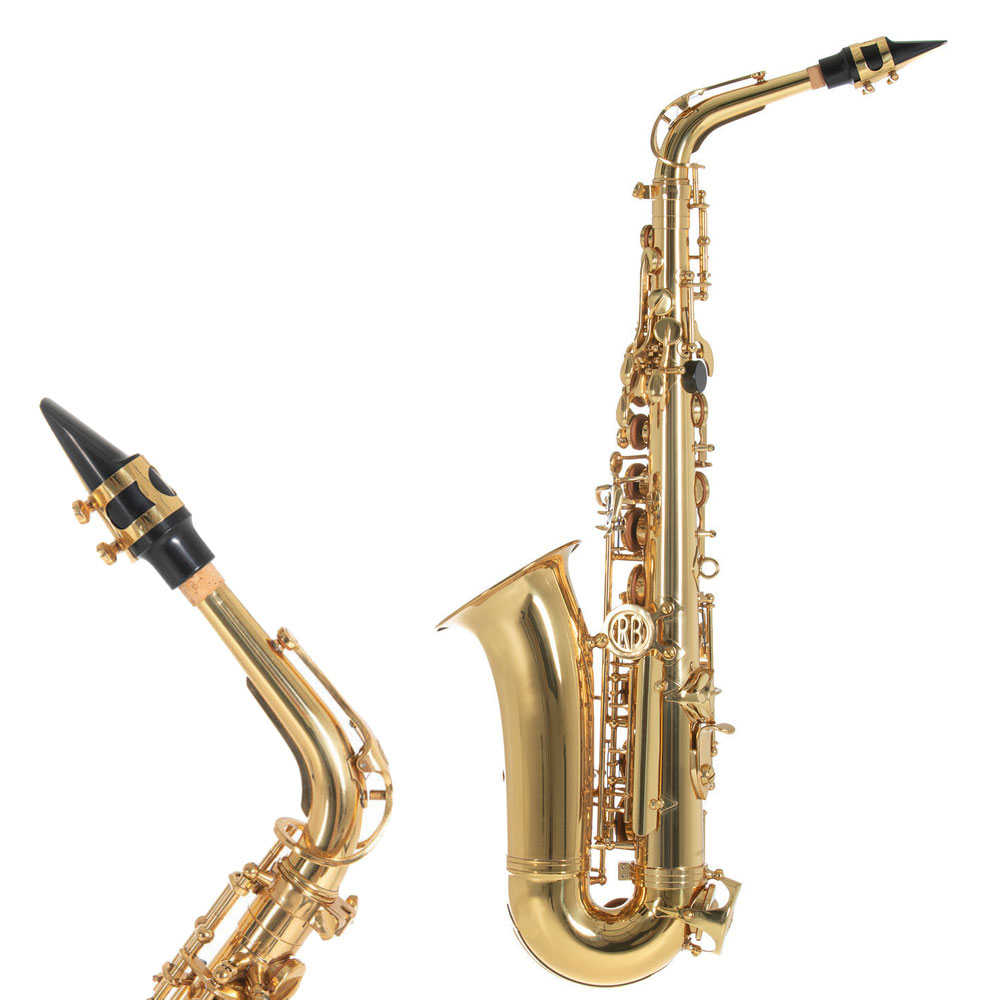 Altsaxophon der Marke Roy Benson.