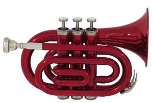 Die Taschentrompete hat die gleiche Rohrlänge wie eine normale Trompete. Sie ist nur kompakter gebaut.