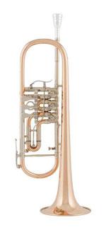 Die Goldmessing-Trompete Cerveny CTR 701R geht farblich etwas ins Rötliche.