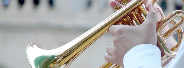 Trompeten gehören zu den beliebtesten Blechblasinstrumenten und sind besonders vielfältig einsetzbar. Quelle Foto: pixabay.