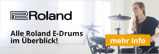 Alle Roland E-Drums im Überblick