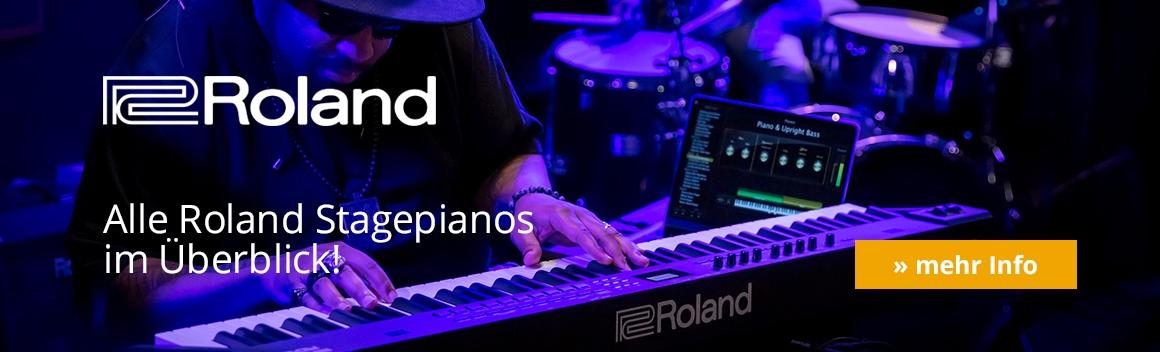 Roland Stagepianos Header