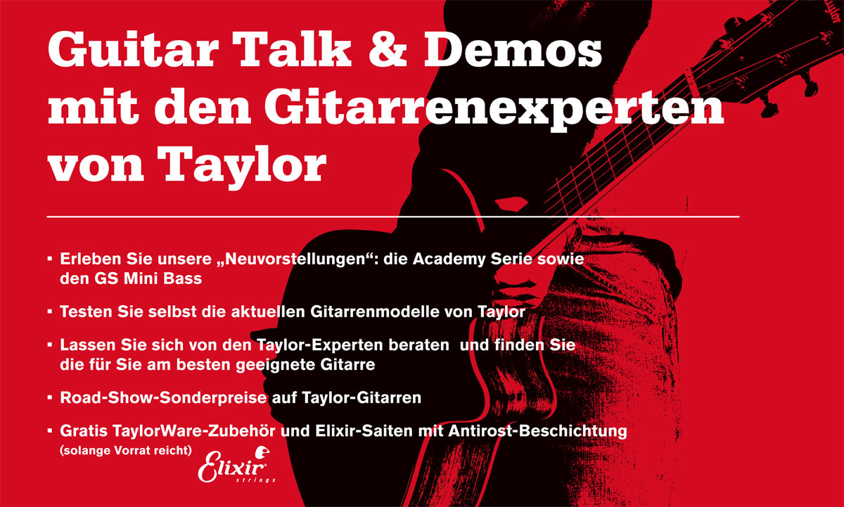 Taylor Road Show 2017 Flyer