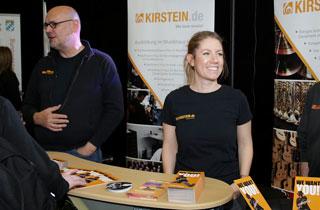 Das Musikhaus Kirstein als Aussteller auf der Schongauer Ausbildungsmesse SAM2019.