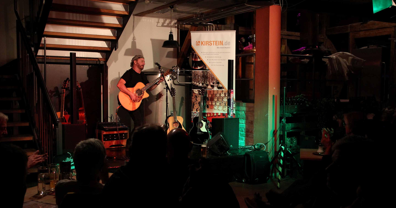 Dave Goodman im Brauhaus Schongau.