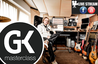 Livestream Masterclass Guitar Equipment Gundy Keller.