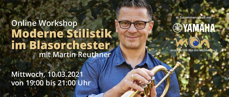Speziell für Dirigenten von Blasorchestern - in Zusammenarbeit mit Yamaha und dem Musikbund für Ober- und Niederbayern e.V.