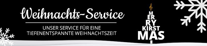 Weihnachts-Service