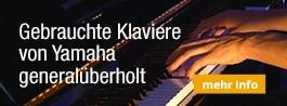 Yamaha Klaviere gebraucht