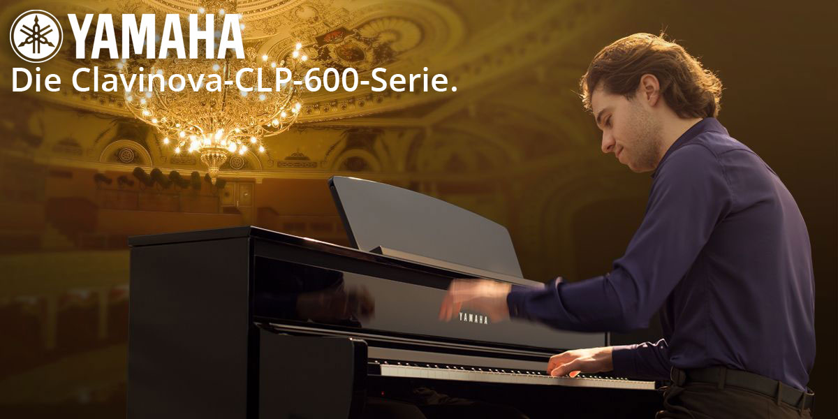Yamaha Clavinova CLP-600