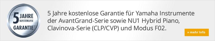 Yamaha CLP Garantieverlängerung