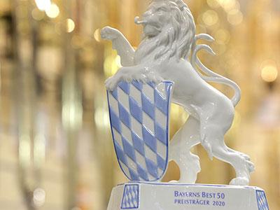 Wir gehören zu Bayerns Best 50