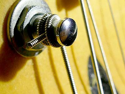 Gitarrensaiten wechseln