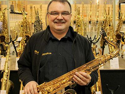 Unser Holzblasinstrumentenmacher Markus