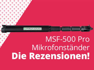 Pronomic MSF-500 Pro – Für Dich getestet!