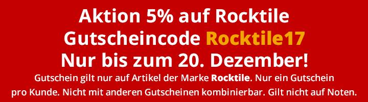 Rocktile 5Prozent Weihnachten 2017