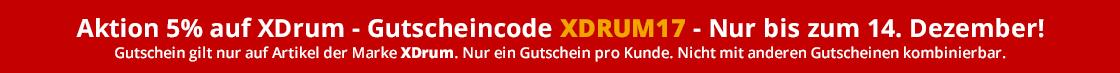 XDrum 5Prozent Weihnachten 2017