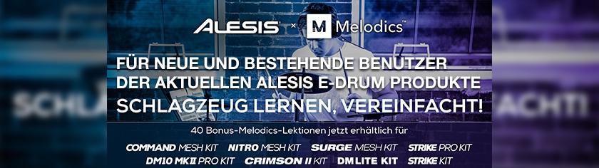 Alesis Melodics 40 Bonus Lektionen