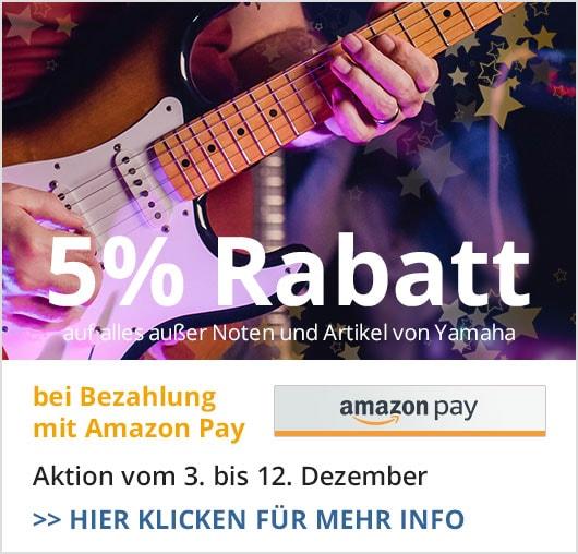 Amazon Pay 5Prozent Aktion Artikel