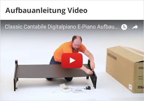 Aufbauanleitung Digitalpianos