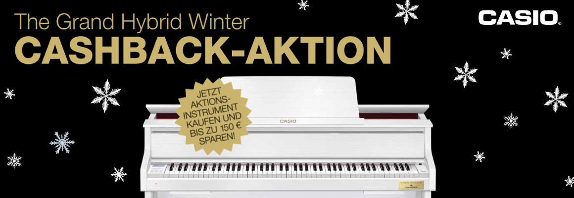 Casio Cashback-Aktion