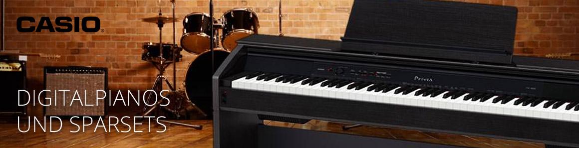 Casio E-Pianos und SparSETs