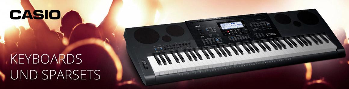 Casio Keyboards und SparSETs