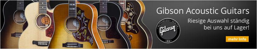 Gibson Akustik-Gitarren - Riesige Auswahl ständig bei uns auf Lager!