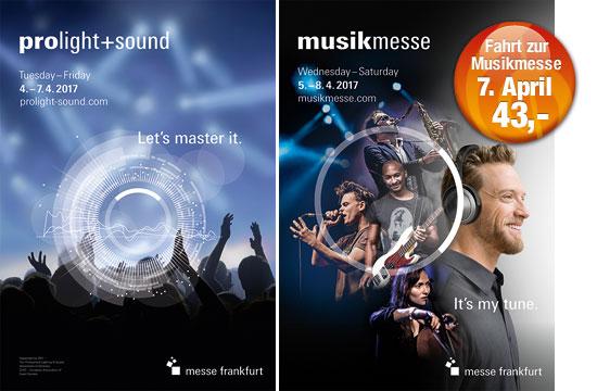 Banner Musikmesse Frankfurt 2017