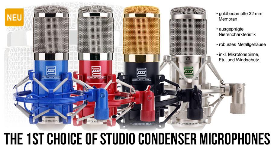Pronomic CM-100 Studio Kondensatormikrofon