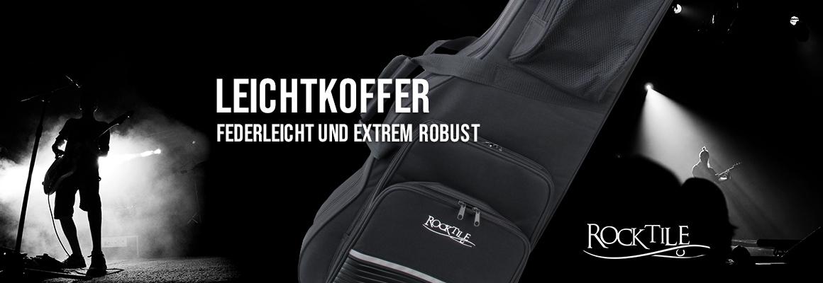 Rocktile Leichtkoffer - Federleicht und extrem robust