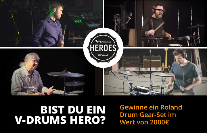 Roland V-Drums Heroes Contest