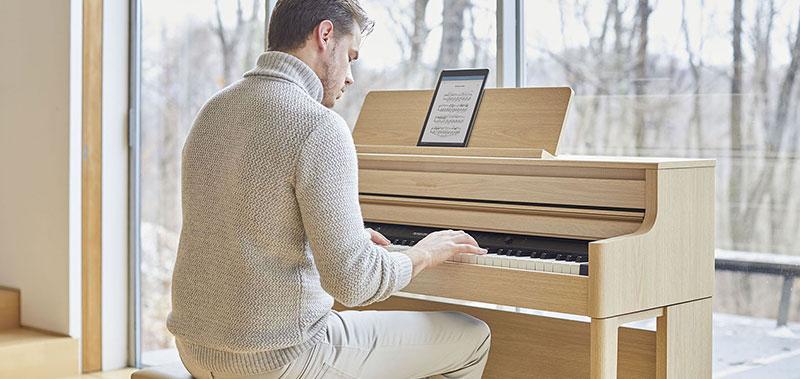 Eine Piano-Serie für jeden musikalischen Stil und Standard