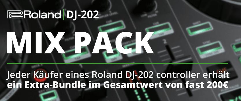 Roland DJ-202 Mixpack