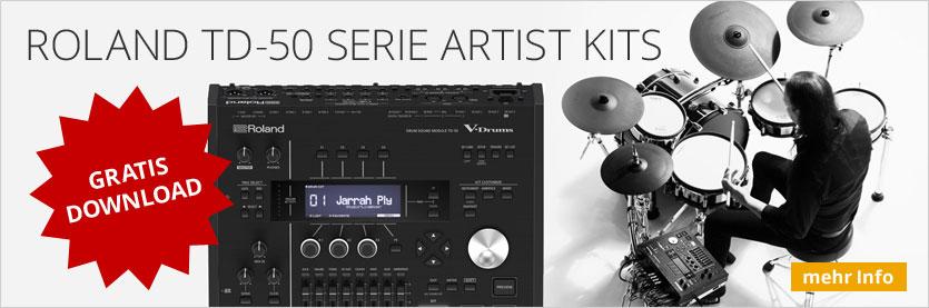 Roland TD-50 Artist Kits Free Download