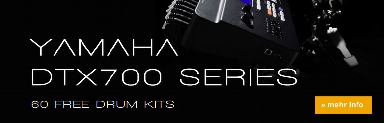 Yamaha DTX-700er Serie Free Drumkits