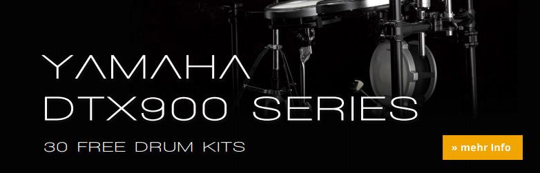 Yamaha DTX-900er Serie Free Drumkits