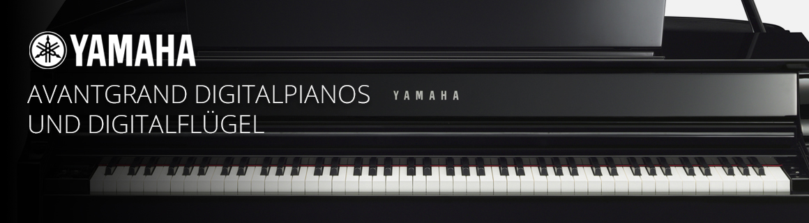 Yamaha AvantGrand Digitalpianos und Digitalflügel