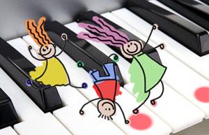 Kinderpianos/-keyboards