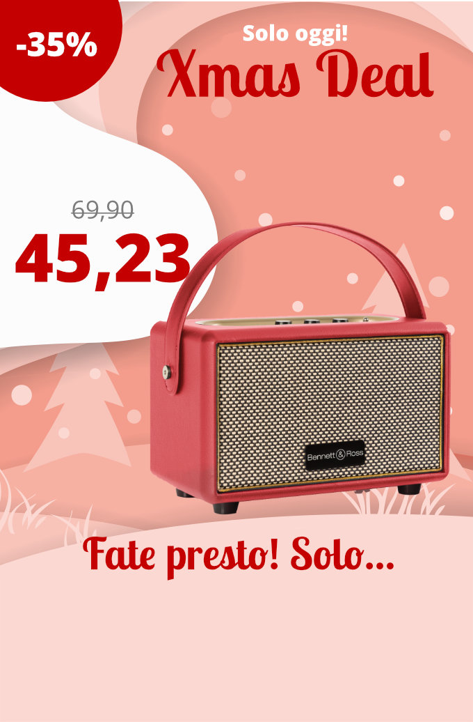 https://www.kirstein.de/it/Home-Living/Audio-Video/Altoparlanti-senza-fili/Bennett-Ross-BB-82ssRD-Altoparlante-Blackmore-Junior-Bluetooth-a-batteria-Rosso.html