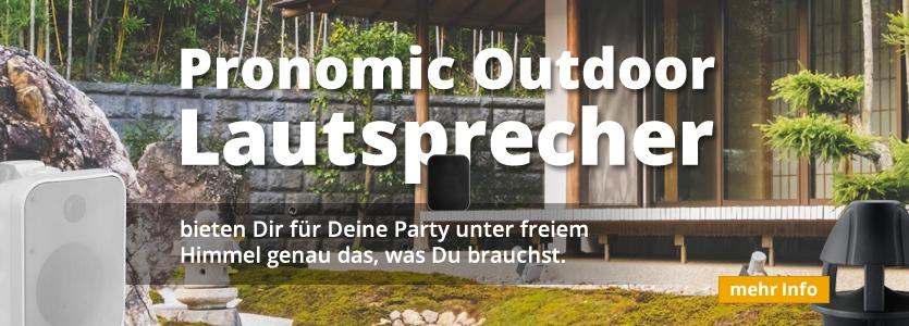 Pronomic Outdoor-Lautsprecher